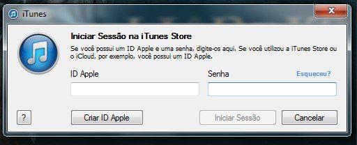 Criar conta na Apple para acessar iCloud e itunes