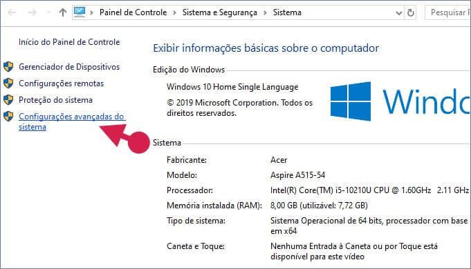 Aumentar o desempenho do Windows com configurações avançadas