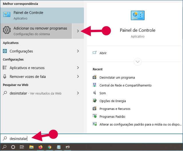 Desinstalar um Programa no Windows para Aumentar o Desempenho do Windows