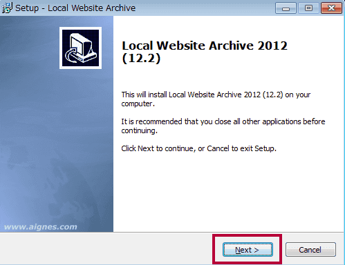 Local Website Archive Lite