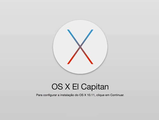 Atualizar OS X El Capitan