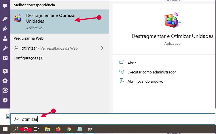 Desfragmentar e Otimizar Unidades no Windows