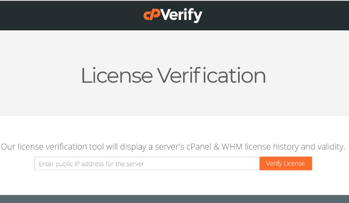 Atualizar e verificar licença WHM do cPanel