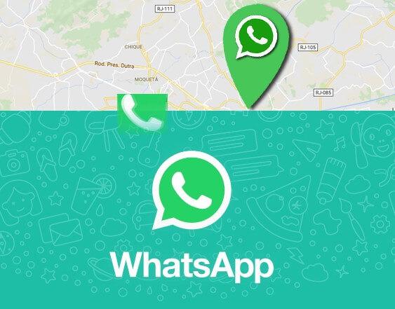 WhatsApp testa o compartilhamento do local do usuário em tempo real