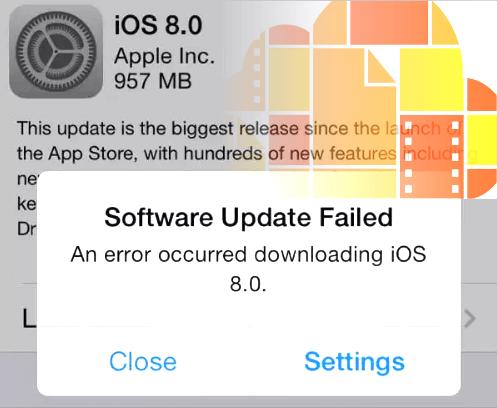 Corrigindo problemas do iCloud Drive