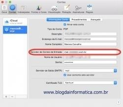 Configurar minha conta de e-mail no Mac Mail