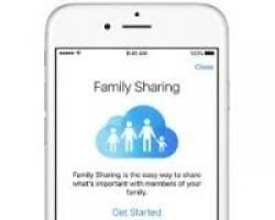 Como Aceitar Convites de Family Sharing Com o iOS 8
