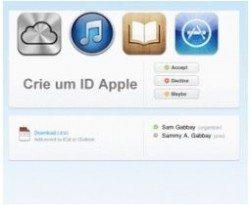 Criar uma Conta na Apple