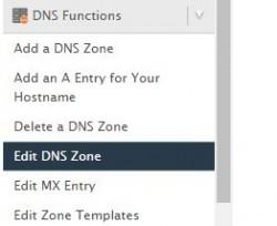 Gerenciando zonas DNS no WHM