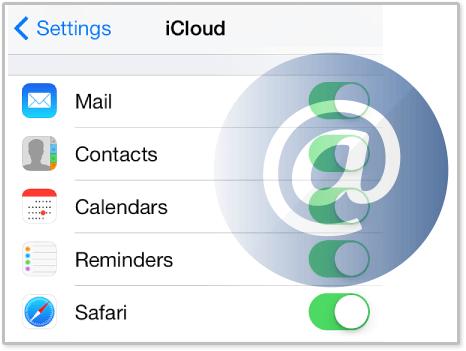 Como configurar o Mail do iCloud nos Dispositivos