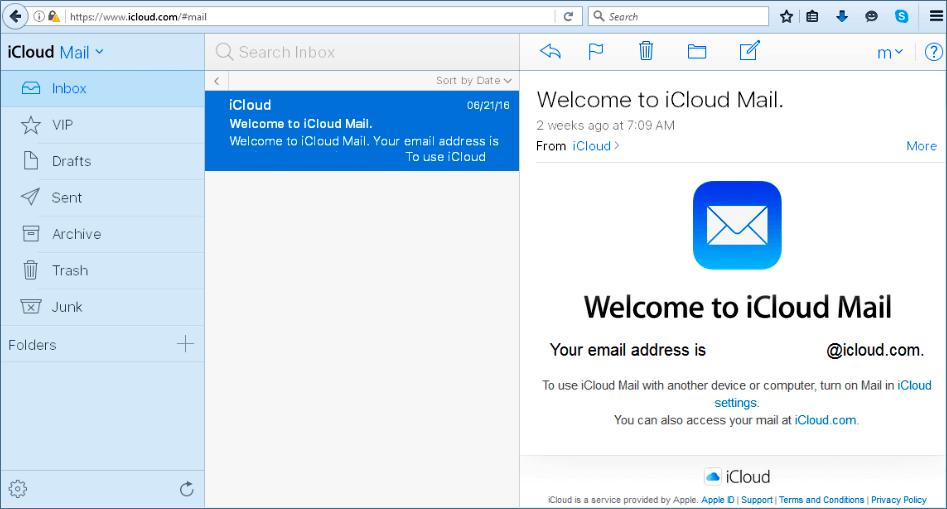 Como criar um endereço de e-mail no iCloud.com