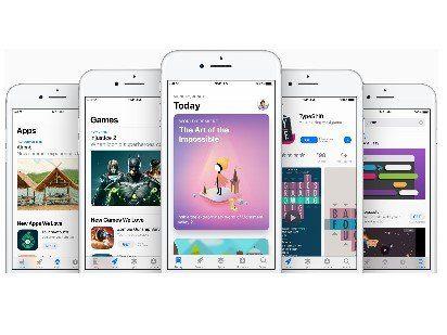 atualizar páginas para a nova App Store