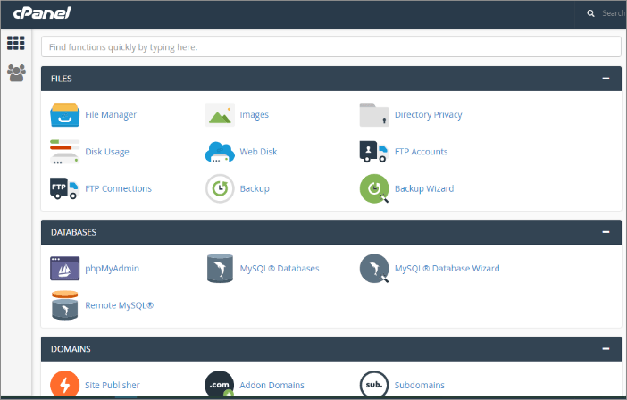 Hospedagem de Sites Com cPanel WHM