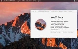 Atualização da MacOS Sierra 10.12.5