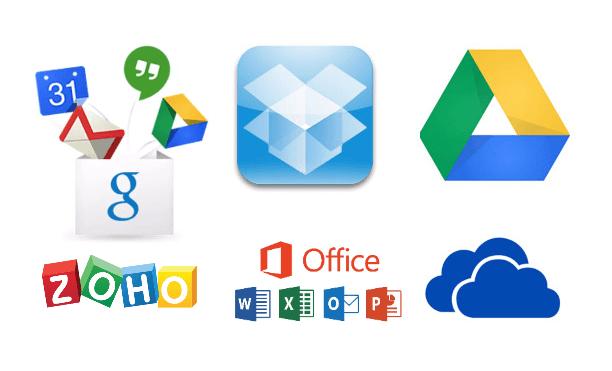 Cloud Apps para empresas os maiores servidores