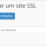 Instalar um Certificado SSL no Domínio com o cPanel