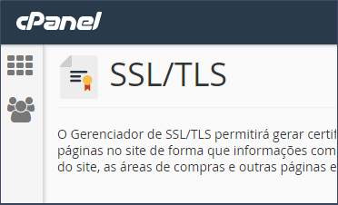 Como renovar um certificado SSL com hospedagem cPanel