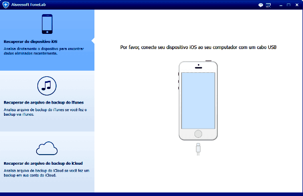 Como recuperar dados perdidos de iPhone iPad