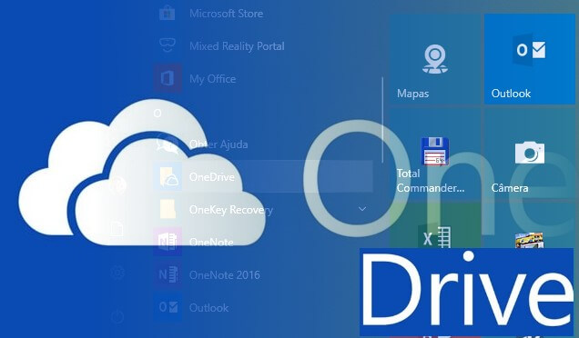 Desativar ou desinstalar o OneDrive no Windows 10