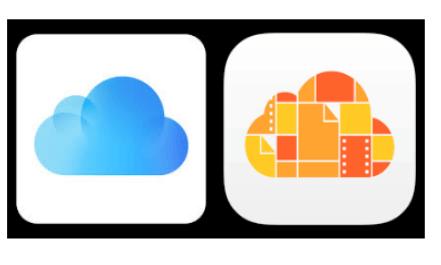 mostrar o ícone do iCloud Drive na tela do iPhone e iPad