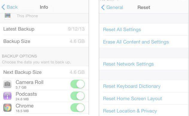 Recuperar fotos excluídas do arquivo de backup iCloud