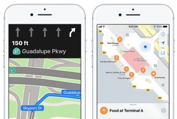 Apple Maps Adiciona Assistência de Pista