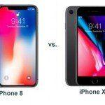 Qual a diferença entre o iPhone 8 e o iPhone X