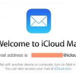 iCloud mail configurações IMAP e SMTP