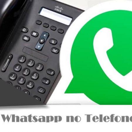 Telefone Fixo da WhatsApp Pode Vir em Breve