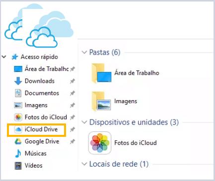 Aplicações de arquivos para iCloud Drive no iOS 11