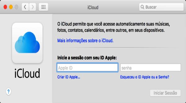 Como Configurar o iCloud no Mac OS X