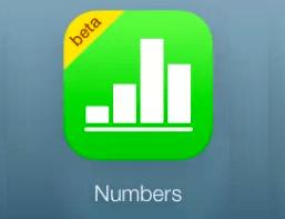Numbers para iCloud