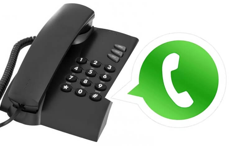 Como usar o WhatsApp com o número de telefone fixo