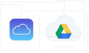 visão sobre iCloud e G Suite