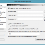 Como Instalar Certificado SSL no Servidor FileZilla
