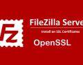 Criar CSR para Servidor FileZilla