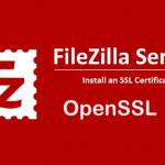 Criar CSR para Servidor FileZilla usando o OpenSSL