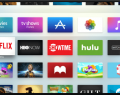 ícones de aplicativo e canal no Apple TV