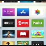 Mova ícones de aplicativo e canal no Apple TV