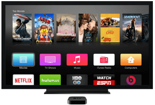 Restaurar a Apple TV usando o itunes