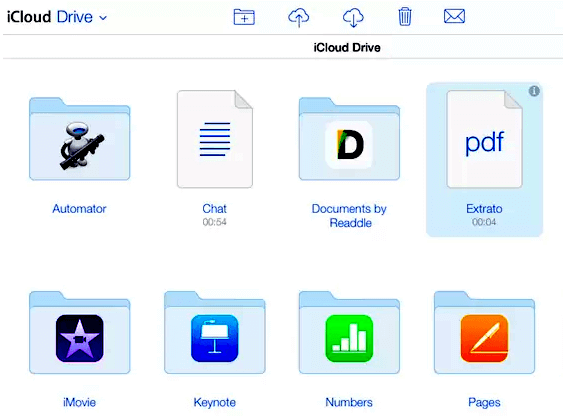 Recuperar Arquivos Excluídos no iCloud Drive