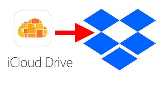 Transferir Arquivos do iCloud Drive Para o Dropbox