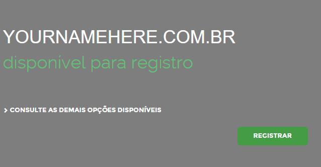 Registrar um domínio para criar um site WordPress