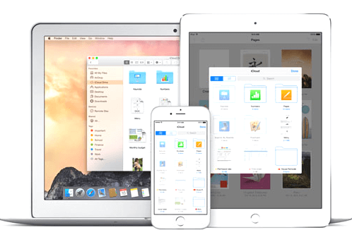 Navegar em Arquivos do iCloud Drive