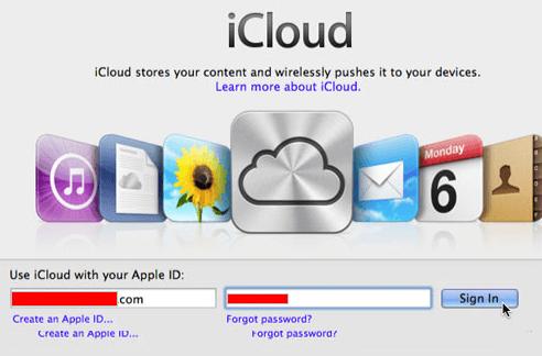 Configurar o iCloud em um MAC