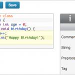 Plugin Wordpress marcador de código pré-formatado