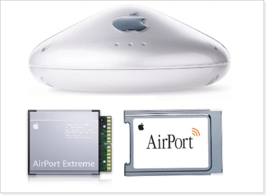 Roteadores AirPort da Apple