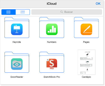 criar uma pasta de arquivos no meu iPhone