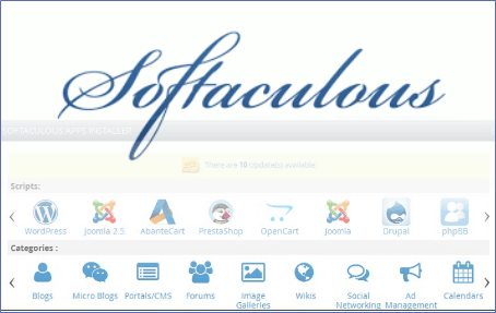 Softaculous Applications Installer