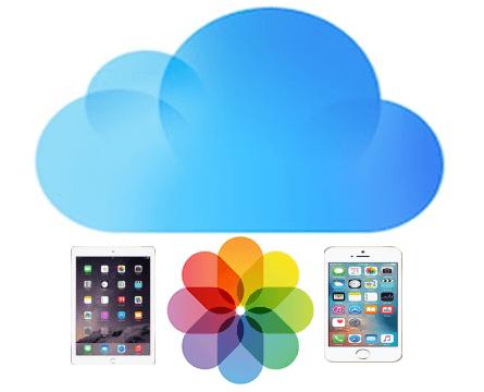 baixar fotos do iCloud para iPhone